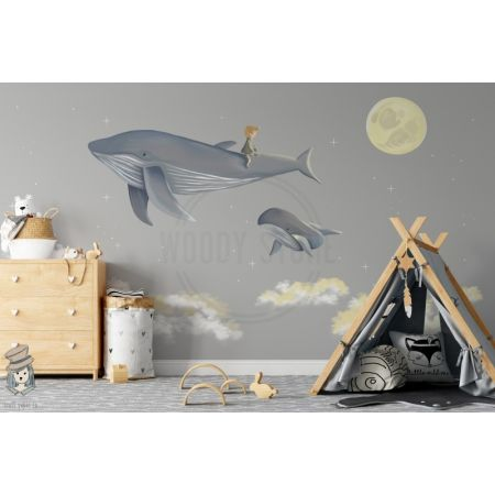 Whales for WoodyKidStore 'Boys
