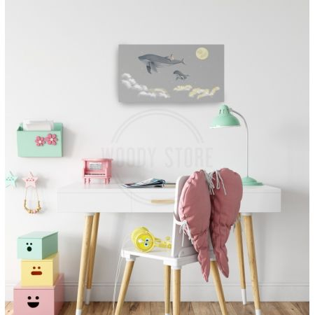 Whales for WoodyKidStore 'Girls
